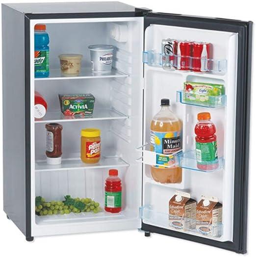 Avanti AVAAR4446B Refrigerator Compact ft. Glass Shelves 4.4 cu Energy Star Defrost