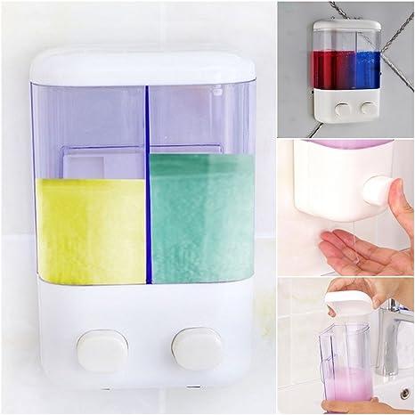 Sue Supply - Dispensador de jabón de baño para uso doméstico o hoteles, jabón de