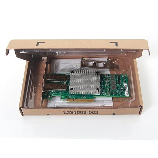 10Gtek® 10GbE PCIE Tarjeta de Red para Broadcom 57810S Chip, Dual SFP+ Puertos, 10Gbit PCI Express x8 LAN Adapter, 3-Year Warranty