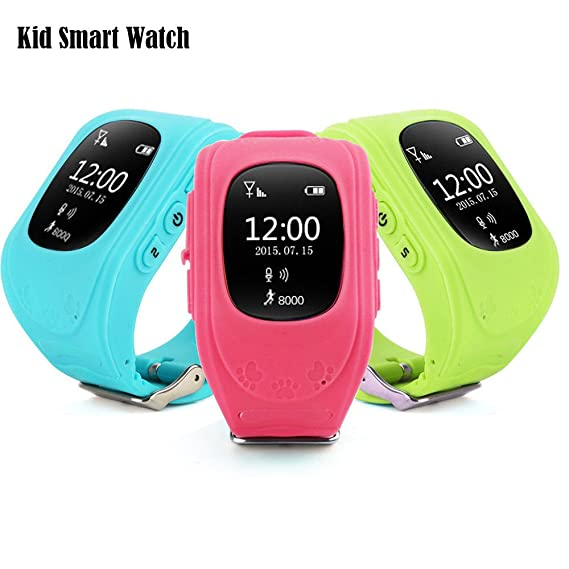 Amazon.com: Kids Smartwatch GPS GPRS Tracker,Q50 Smart Watch ...