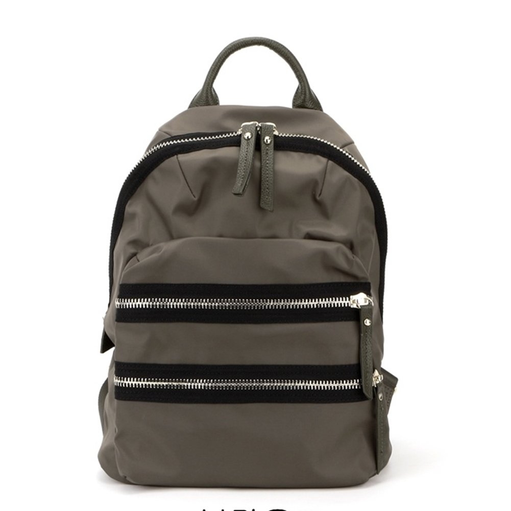 VF P914 Two Zipper Backpack Brown