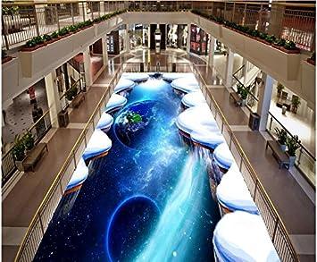 Malilove Peinture Sol Moderne Le Ciel Star Dessin 3d 3d Papier Peint
