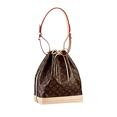 a6794df8b Authentic Louis Vuitton Monogram Canvas Noé Shoulder Bag Strap Handbag  Article: M42224 Made in France: Handbags: Amazon.com