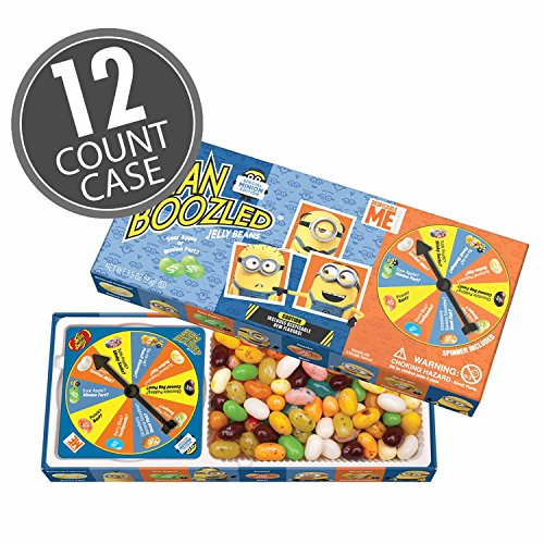 Jelly Belly BeanBoozled Minion Spinner Jelly Bean Gift Box,