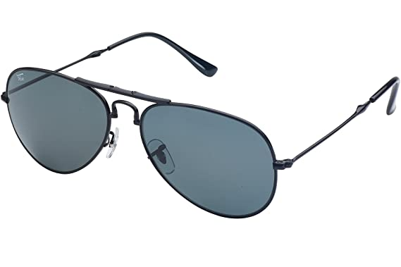 660fffeab Amazon.com: Foldies Black Folding Aviators with Polarized Black Lenses:  Clothing