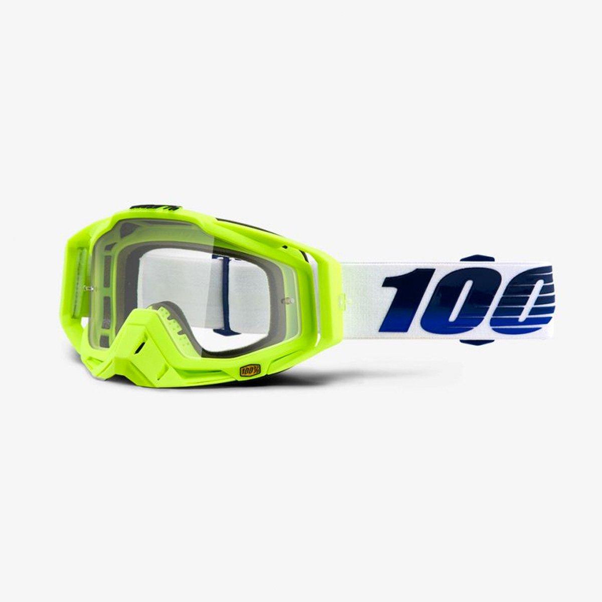 100 % Percent Racecraft Mountain Bike Goggle – クリアレンズ – 50100 ブルー B07B9QVCBDGP21 Clear Lens