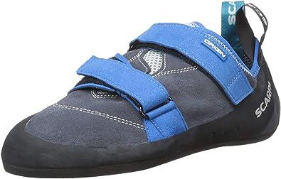 SCARPA Origin - Zapatillas de escalada unisex, color gris hierro, 40