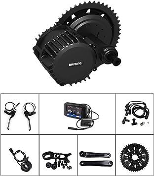 Bafang Bicicleta Eléctrica Kit de Conversión Kit de Motor de ...