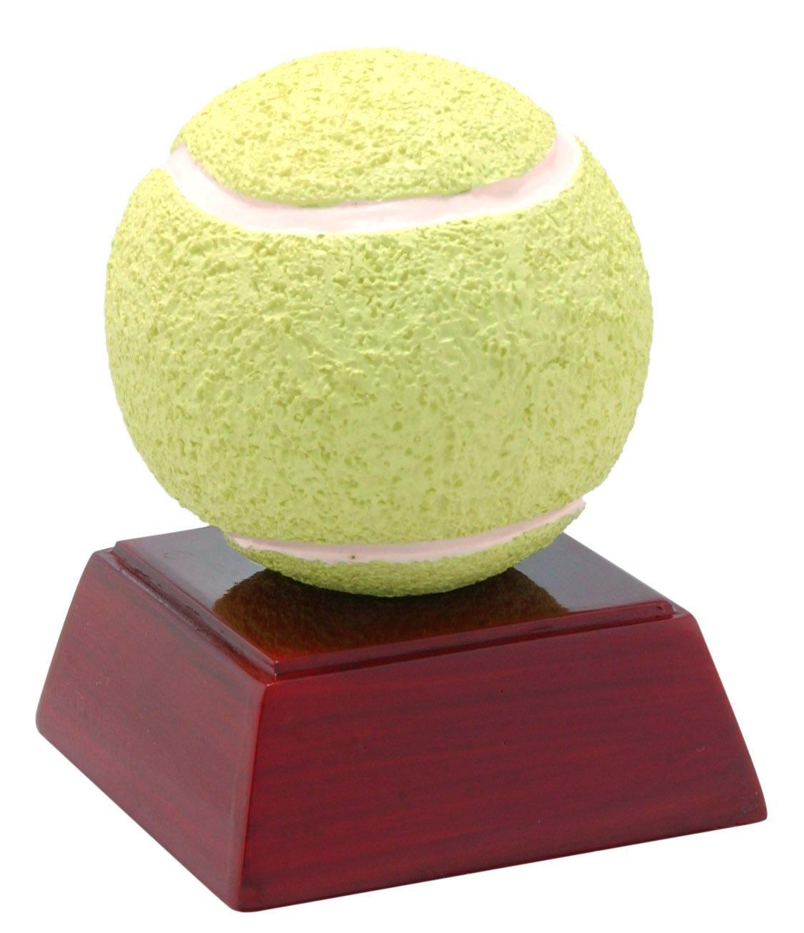 Amazon Com Decade Awards Tennis Ball Color Resin Trophy Tennis