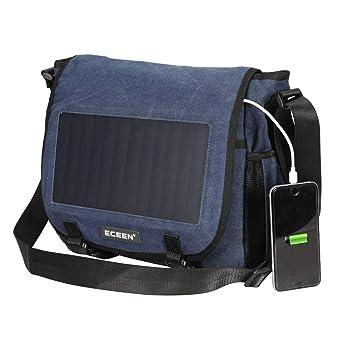 Amazon.com: Mochila solar de 30 L 6,5 W con panel solar de ...