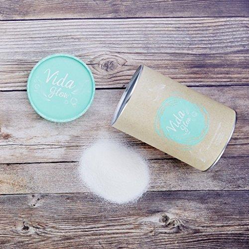 Vida Glow 100% Natural Marine Collagen Original Blend (BULK, 270g Loose Powder, 90 Servings) by Vida Glow (Image #2)'