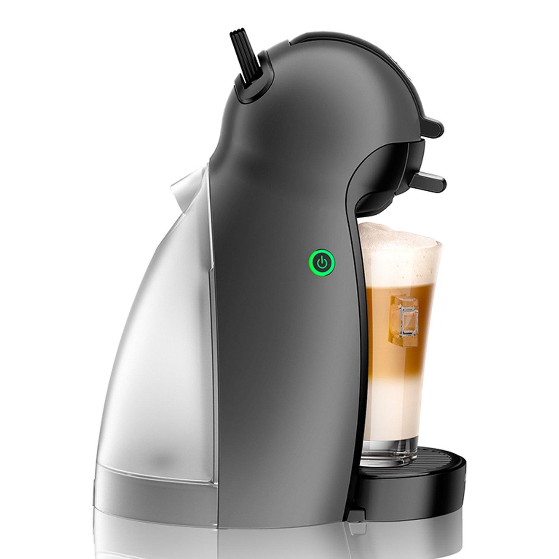 Nescafé Dolce Gusto - Máquina para café espresso y otras bebidas, pequeña con 32 Cápsulas, Manual antracita: Amazon.es: Hogar