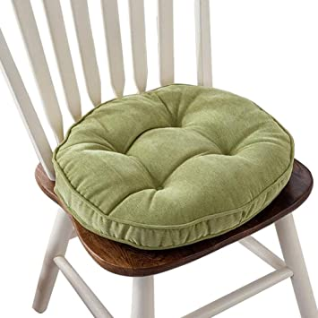 Groovy Thicken Round Seat Cushions Sofa Chair Pillow Cushion Chair Pads Green Gmtry Best Dining Table And Chair Ideas Images Gmtryco
