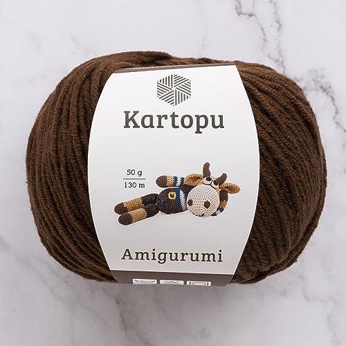 3 Ball Kartopu Amigurumi Total 10.5 Oz Each