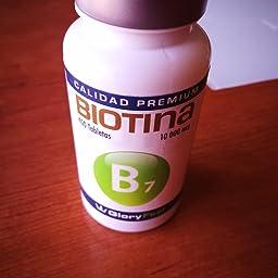Biotina: Amazon.es: Amazon.es