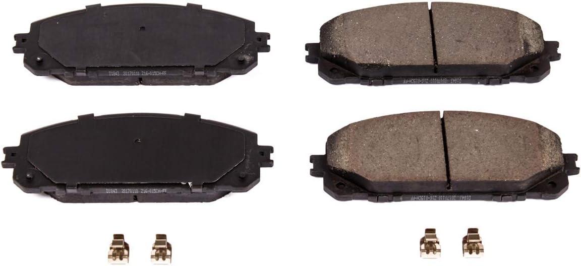 Power Stop 16-1913 Z16 Evolution Front Ceramic Brake Pads