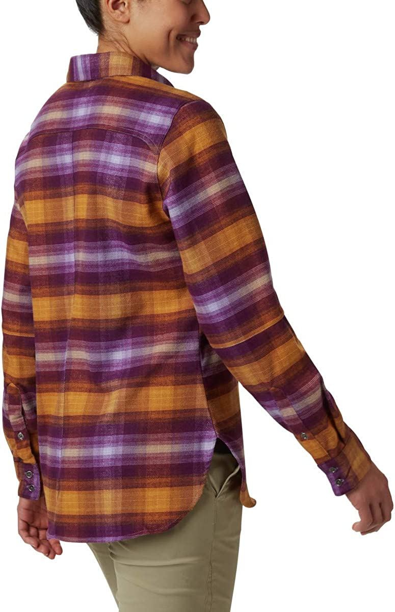 Columbia Womens Bryce Canyon Stretch Flannel