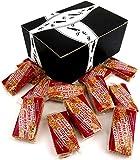 Loucks Sezme Cinnamon Sesame Snaps, 1.34 oz Packages in a BlackTie Box (Pack of 12)