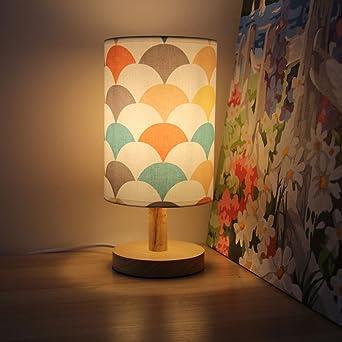XSPWXN Moderna lampada da comodino Camera da letto confortevole ...