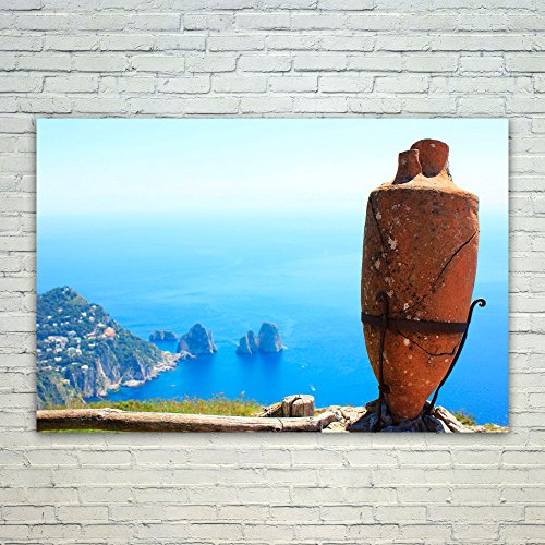 (Westlake Art Poster Print Wall Art - Faraglioni Rock - Modern Picture Photography Home Decor Office Birthday Gift - Unframed - 24x36in)