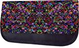 Stained Glass Style Mosaic Print Design TM Pencil Case Made in the U.S.A.
