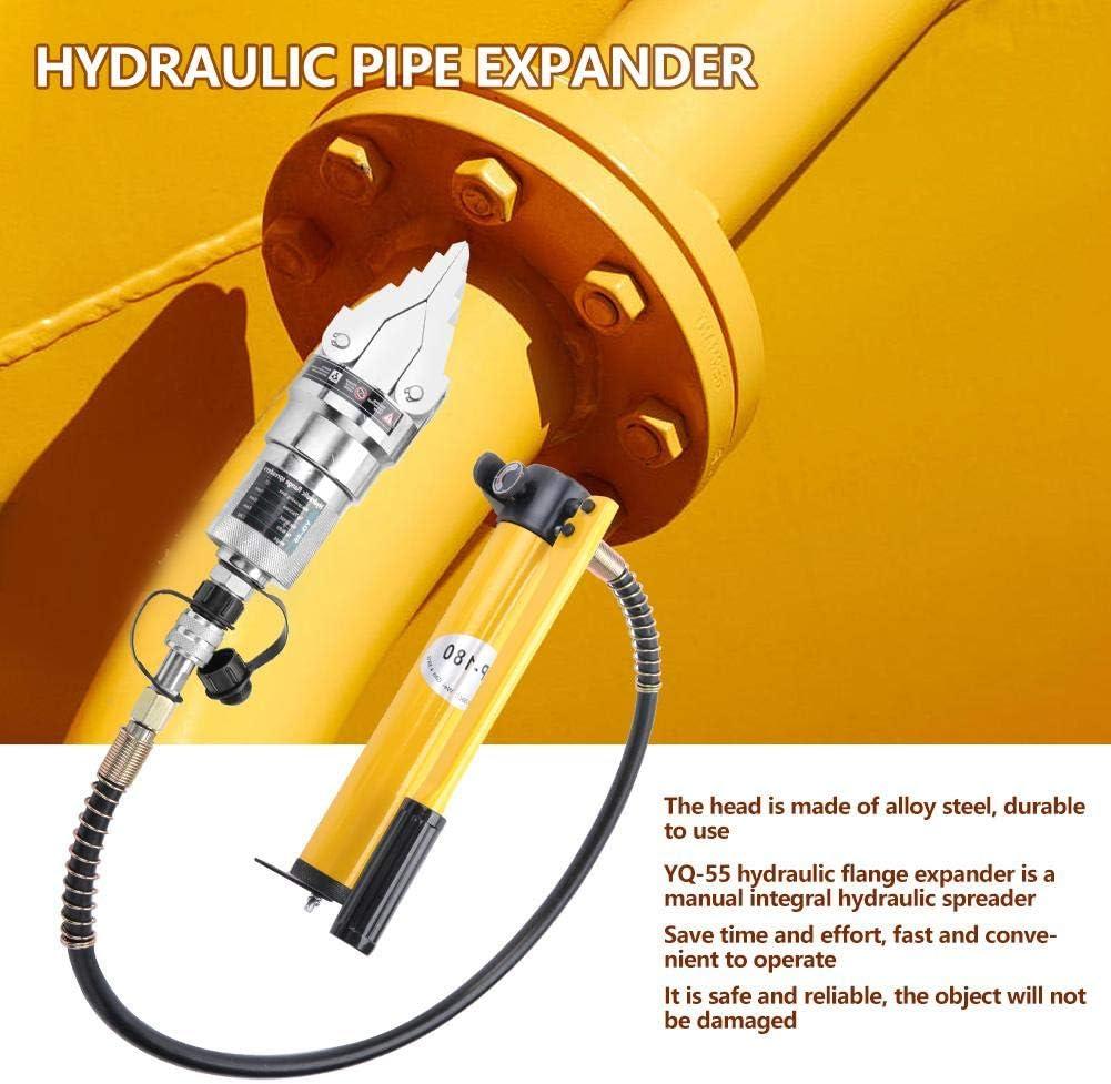 Demontage YQ-55 12T Hydraulic Pipe Expander Handbuch Integral Hydraulic Spreader Splitter Zangen Separator f/ür die Fehlersuche Ersatz