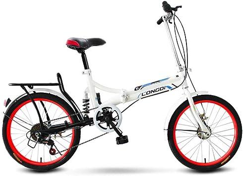 Adultos Arrugas bicicleta 20 pulgadas – Amortiguador de velocidad ...