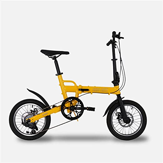 PXQ Bicicleta Plegable para Adultos y Boy Ultralight aleación de ...