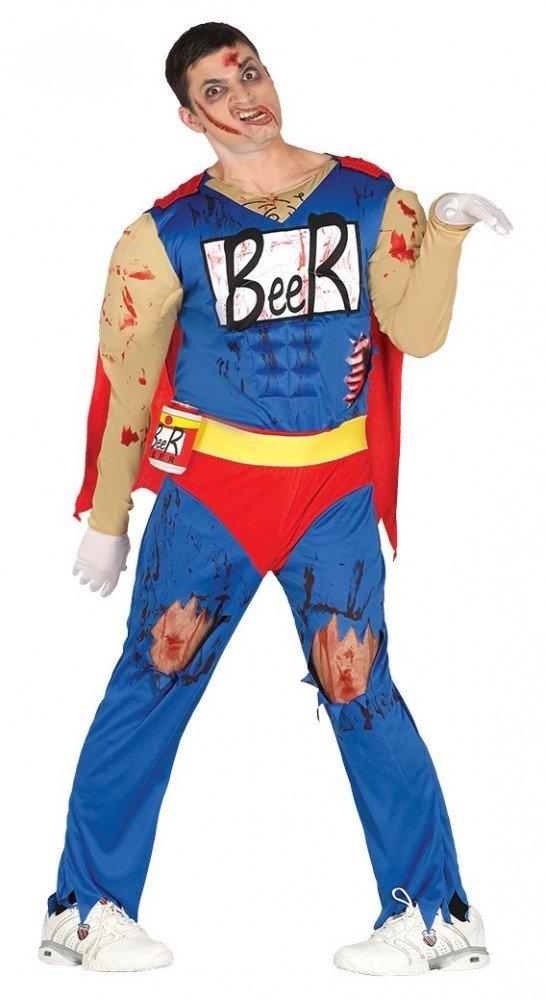 Hombre Disfraz Zombie Muñeco de Cerveza Duff Beer. Man Cerveza de muñeco Halloween https://amzn.to/2DRQnNL
