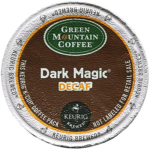 Green Mountain Coffee Decaf Dark Magic, 24ct K-Cup for Keurig Brewers(packaging may vary)