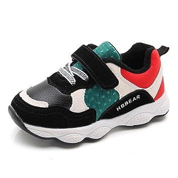 5f7b82f9 zapatos bebe niño invierno vestir casual, Sannysis Zapatillas de Colores  Transpirables zapatos niña invierno zapatos deportivos niñas Zapatillas de  Gimnasia ...