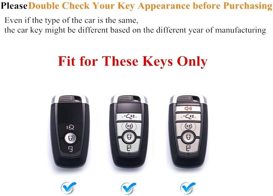 ORANGE FORD F150 F250 F SERIES MUSTANG RANGER PROTECTIVE KEY REMOTE FOB COVER