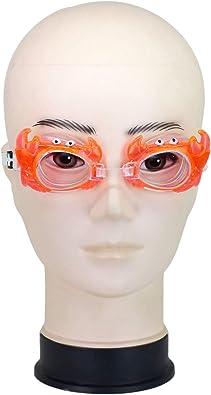 Neska Moda Kids Anti Fog  amp; UV Protected Orange Swimming Goggle Swimming Goggles