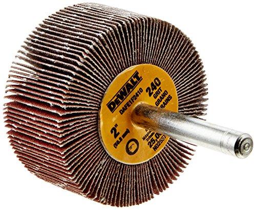 DEWALT DAFE1F2410 2-Inch by 1-Inch by 1/4-Inch HP 240g Flap Wheel