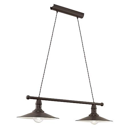 Vintage lámpara colgante (2 puntos de luz, Vintage, plano ...
