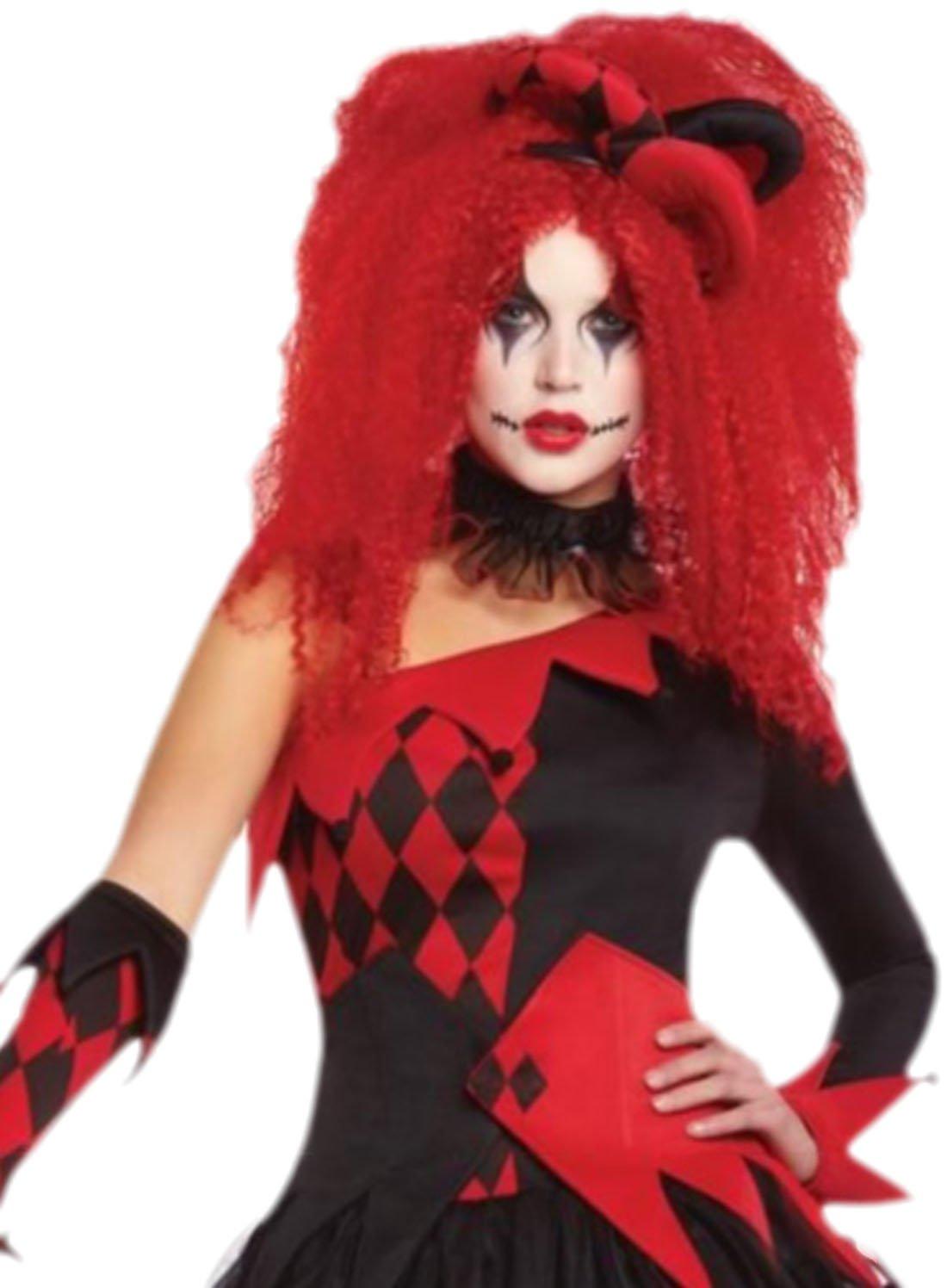 Erdbeerloft Damen Joker Kostum Damenkostum Fasching Karneval