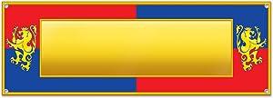 Beistle 54211 Medieval Sign Banner, 5' x 21