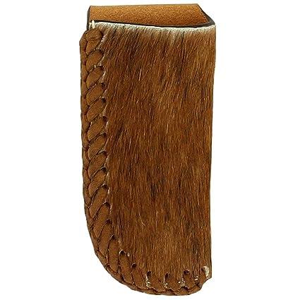 Amazon.com: Nocona - Cuchillo de bolsillo de piel de vaca ...