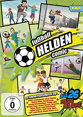 Fussball Helden Comic Amazon De Andreas Strozyk Matthias
