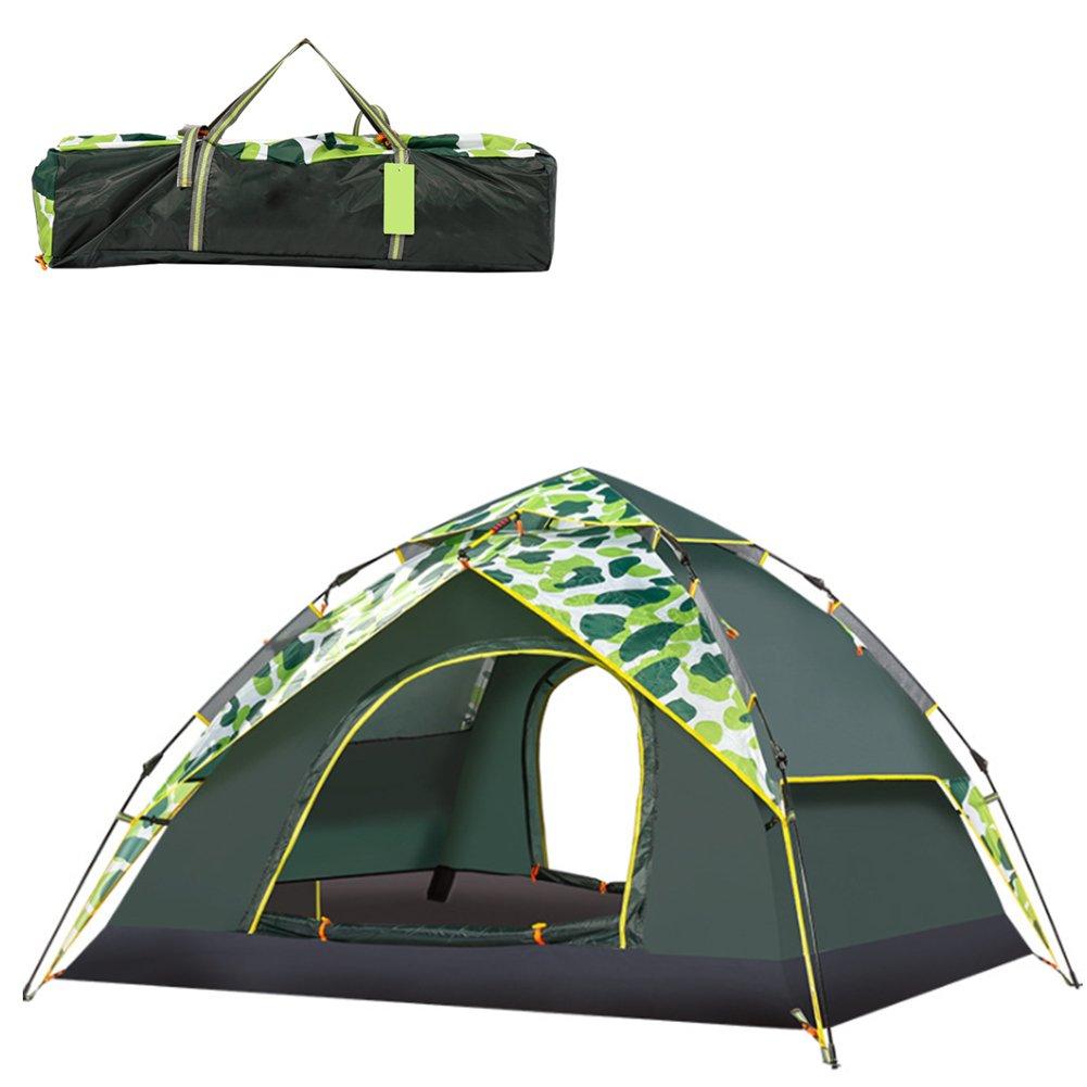 TYJH 3-4 Personen Zelt Doppelschicht Camping Zelt Outdoor Familie Camping Camping Zelt Für Camping Familie Reisen (200 cm  230 cm  140 cm) 48bfa3