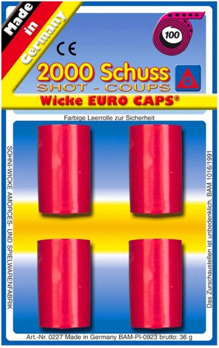 Horror-Shop 100 Schuss Spielzeugmunition 20 St.