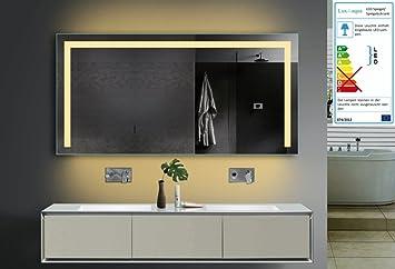 Lodovico Badezimmer Spiegel LED Beleuchtung Lichtfarbe wählbar 2 ...