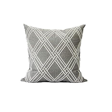 LPFS Nuevo algodón Bordado Hilo Diamante geometría patrón ...