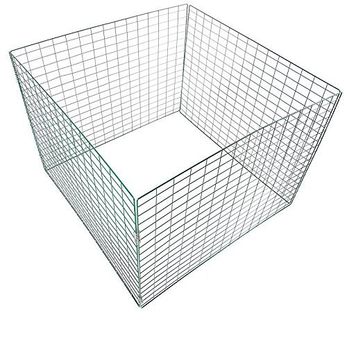 Komposter Drahtkomposter Metallkomposter PVC-beschichtet - versandkostenfrei (D) TopMulti