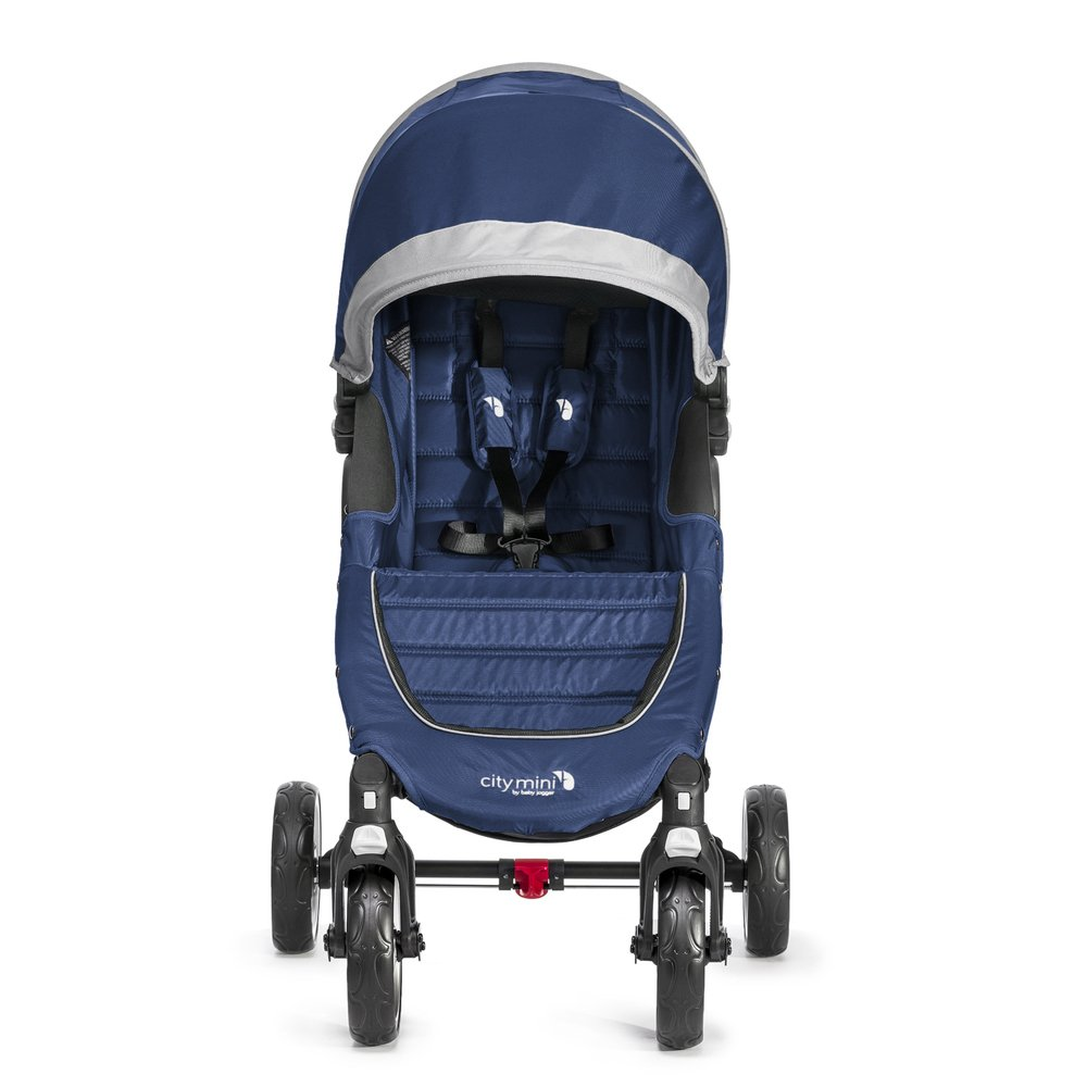 Baby Jogger City Mini 4 - Silla de paseo, color azulón/gris ...