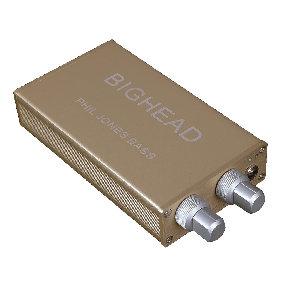 PJB(Phil Jones Bass) Portable headphone amplifier for base BIGHEAD Gold(Limited Color)【Japan Domestic genuine products】