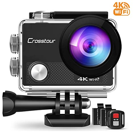Review Crosstour 4K Action Camera