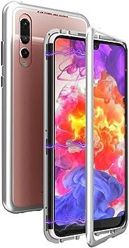 Funda Huawei P20 Pro case,Placa de vidrio templado,Aleación de ...