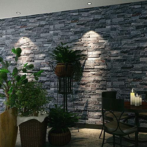 Qingci Retro Nostalgique 3d Effet Mur De Briques Papier