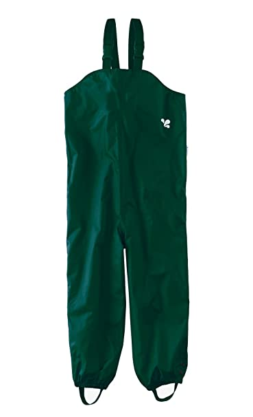 86b280744ad6 Muddy Puddles Childrens Waterproof Dungarees - Green Protective Kids ...